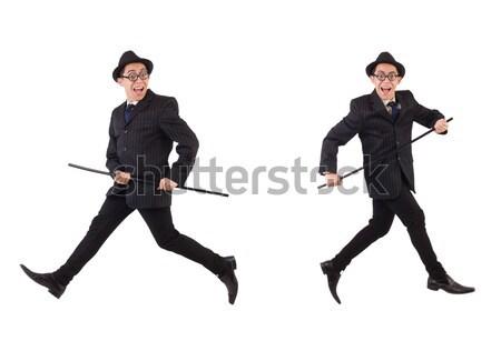 Hombre bailarín baile espanol aislado hombre blanco Foto stock © Elnur