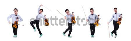 Сток-фото: танцовщицы · танцы · белый · ню · вечеринка · счастливым
