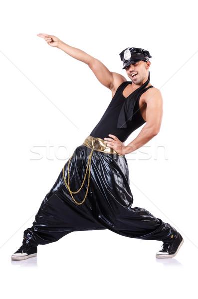 ラップ ダンサー 孤立した 白 男 ダンス ストックフォト © Elnur