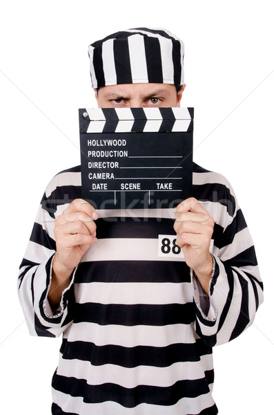 смешные тюрьмы заключенный фильма совета изолированный Сток-фото © Elnur