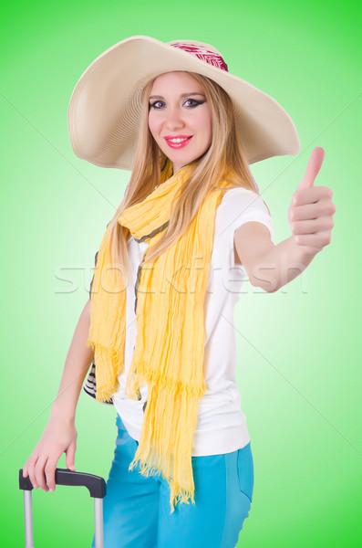 Jeunes prêt vacances d'été affaires fille Photo stock © Elnur