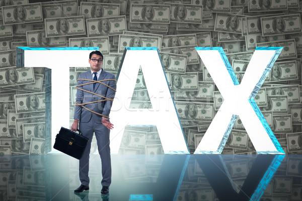 Imprenditore fiscali business carta internet tempo Foto d'archivio © Elnur
