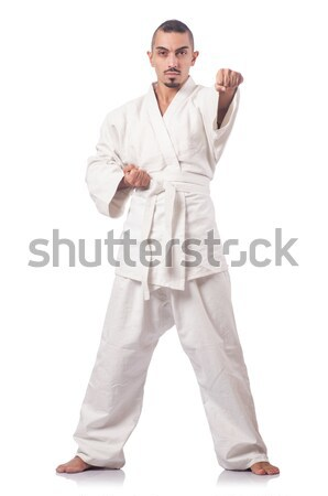 Karate martial arts fighter  Stock photo © Elnur