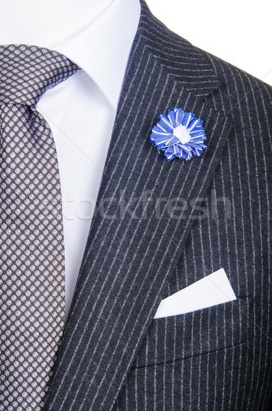 Formal terno moda negócio fundo empresário Foto stock © Elnur