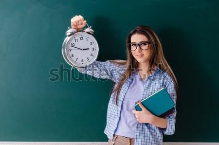 молодые студент изолированный белый женщину улыбка Сток-фото © Elnur