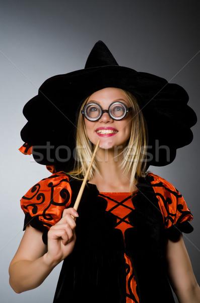 魔女 汚い 手 笑顔 スーツ 肖像 ストックフォト © Elnur