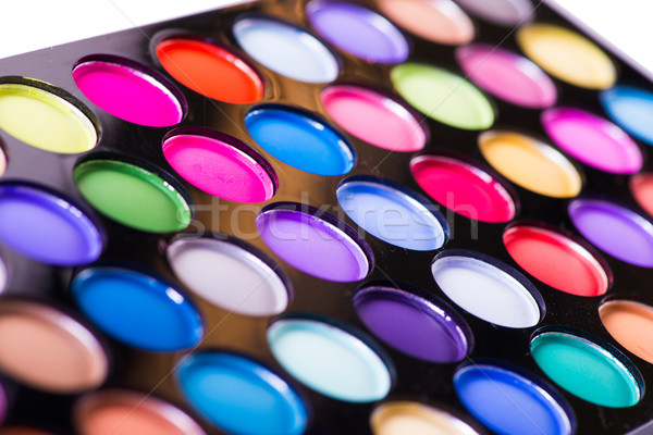 Stock photo: Artist palette isolated on white