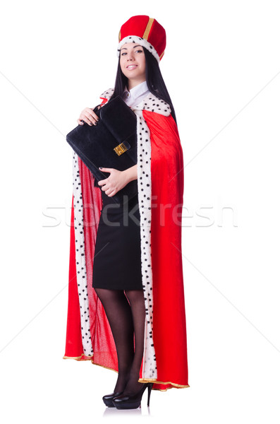Queen businesswoman in business concept Stock photo © Elnur
