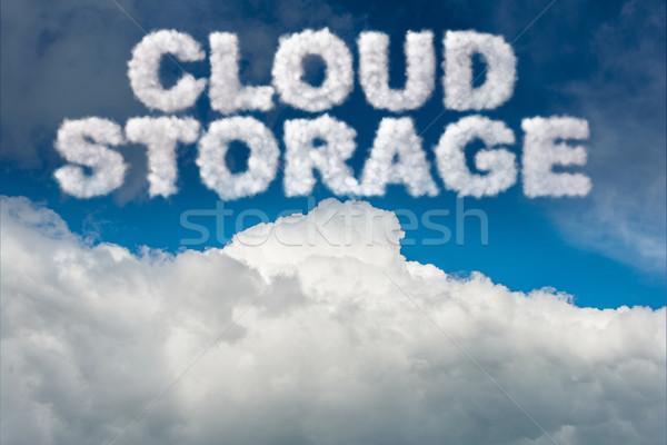 Armazenamento tecnologia servidor rede móvel Foto stock © Elnur