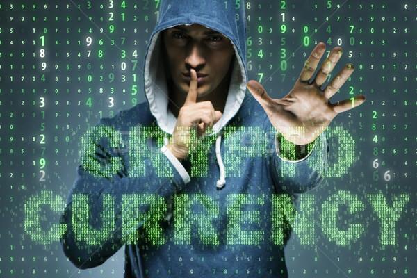 Hacker Hacking Business Computer Sicherheit Finanzierung Stock foto © Elnur