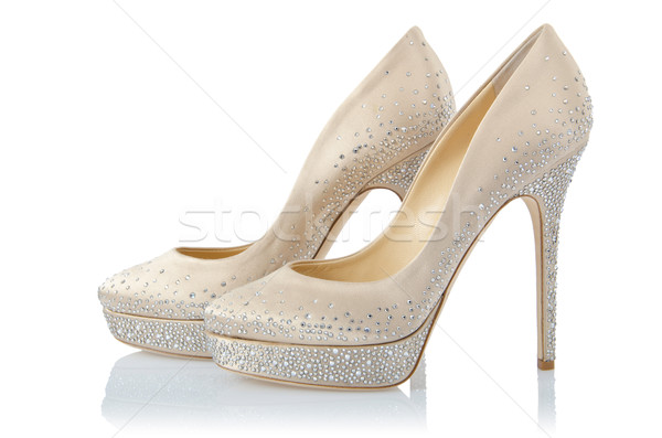 Nice woman shoes isolated on white Stock photo © Elnur