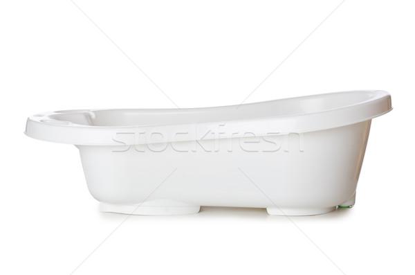 Piccolo vasca isolato bianco baby bambino Foto d'archivio © Elnur