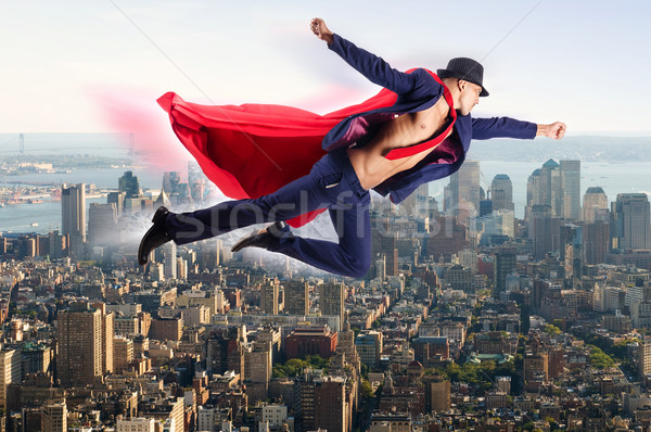 Superman and the city in concept Stock photo © Elnur