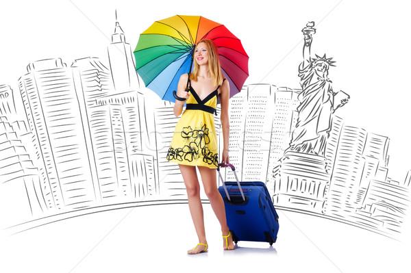 USA glücklich Hintergrund Sommer Stock foto © Elnur