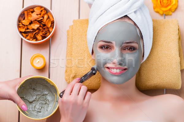 Young woman in spa health concept  Stock photo © Elnur