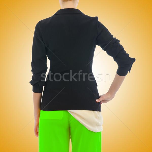 élégant veste isolé modèle affaires mode Photo stock © Elnur