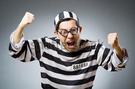 刑務所 受刑者 面白い 男 画面 ロック ストックフォト © Elnur