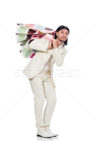 человека изолированный белый бизнесмен Сток-фото © Elnur