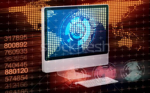 экране компьютера бизнеса компьютер интернет работу фон Сток-фото © Elnur
