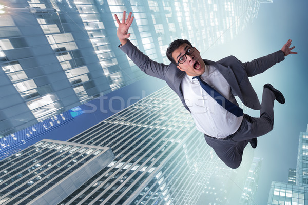 The businessman committing suicide due to crisis Stock photo © Elnur