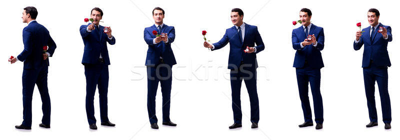 ロマンチックな 男 結婚 提案 結婚式 ストックフォト © Elnur