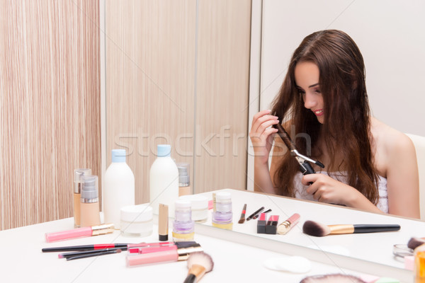 Young woman in beauty make-up concept Stock photo © Elnur
