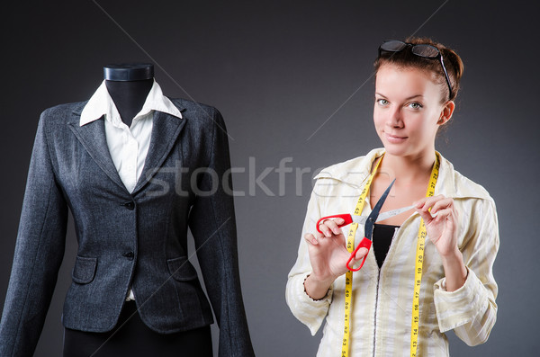 женщину портной рабочих одежду моде работу Сток-фото © Elnur