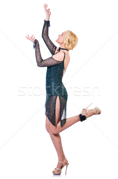 Female dancer dancing traditional dances Stock photo © Elnur