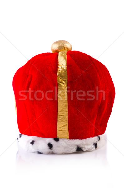 King crown isolated on white Stock photo © Elnur