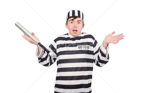 Engraçado prisão internado esportes lei diversão Foto stock © Elnur