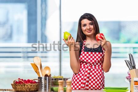 若い女性 飲料水 ジム 健康 水 少女 ストックフォト © Elnur