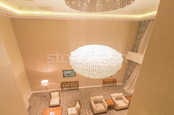 Modern interior of dining room Stock photo © Elnur