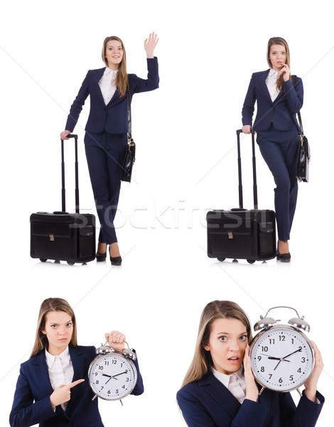 путешествия отпуск Камера белый женщину время Сток-фото © Elnur