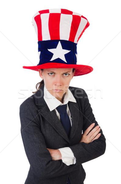 Сток-фото: американский · белый · женщину · девушки