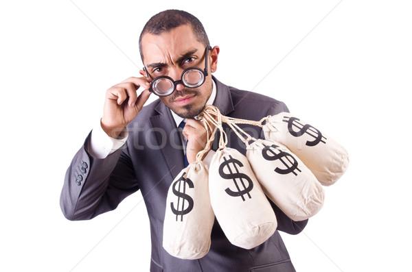 человека деньги белый бизнеса лице Сток-фото © Elnur