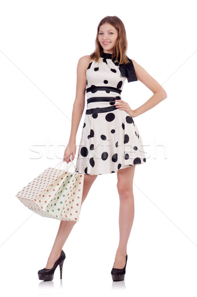 Woman in shopping concept Stock photo © Elnur