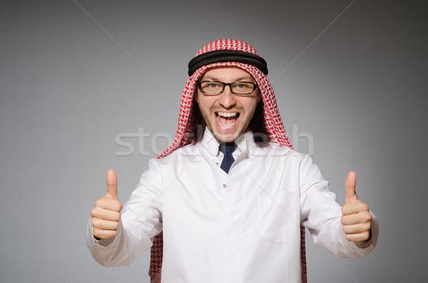 阿拉伯 醫生 多樣 快樂 健康 醫院 商業照片 © Elnur