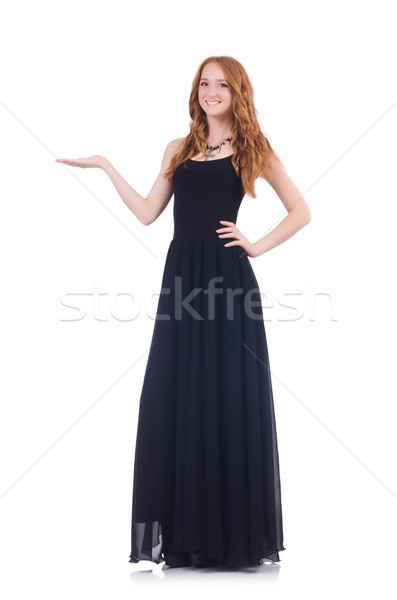 Woman isolated on the white background Stock photo © Elnur