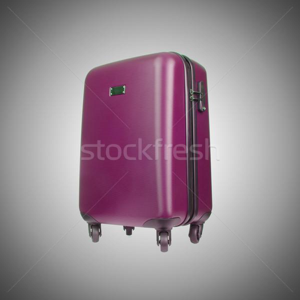 Seyahat bagaj eğim iş arka plan çanta Stok fotoğraf © Elnur