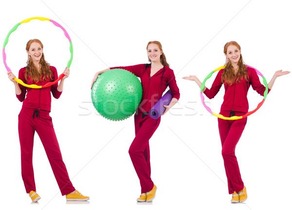 Set of model photos in health concept Stock photo © Elnur