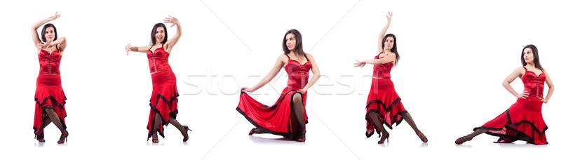 Feminino dançarina dança espanhol mulher menina Foto stock © Elnur
