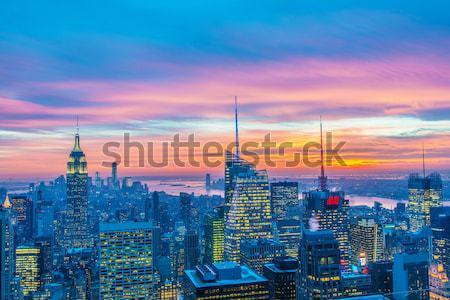 Нью-Йорк декабрь 20 2013 мнение снизить Сток-фото © Elnur