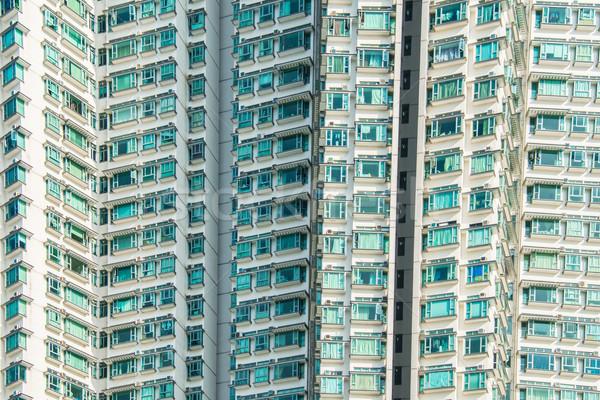 Residencial edificio Hong Kong cielo viaje edificios Foto stock © Elnur