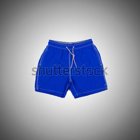 Homme short gradient homme été bleu Photo stock © Elnur