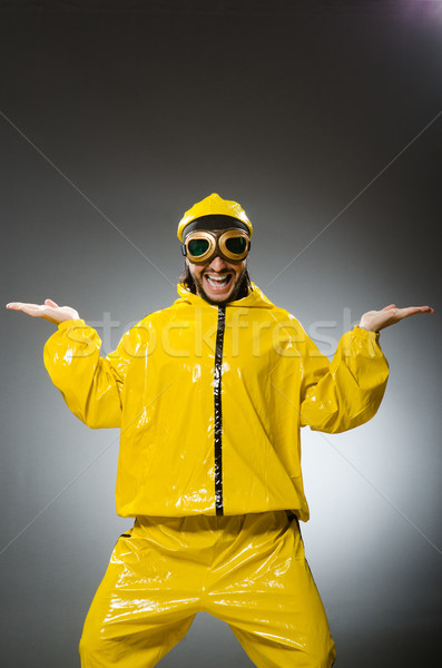 Man wearing yellow suit and aviator glasses Stock photo © Elnur