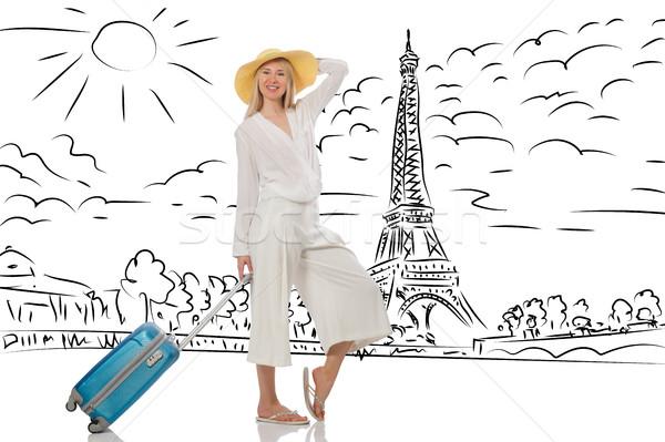 若い女性 旅行 女性 少女 幸せ ファッション ストックフォト © Elnur