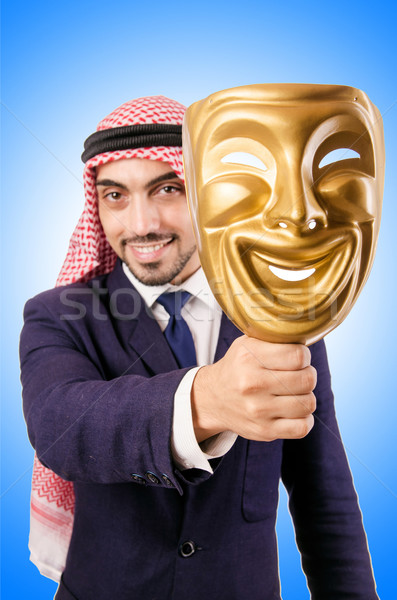 Arab businessman isolated on white Stock photo © Elnur