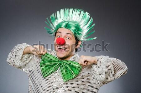 Femme saint fille heureux vert chapeau Photo stock © Elnur
