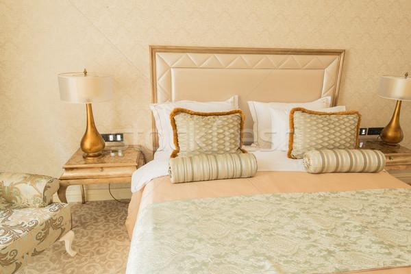 Bedroom room in modern style Stock photo © Elnur