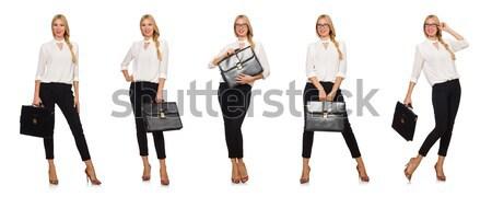 Zestaw zdjęć moda dziewczyna skóry ubrania Zdjęcia stock © Elnur